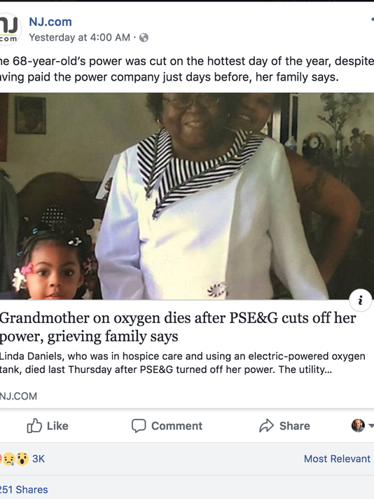 Grandmother on oxygen machine died after power was cut ...