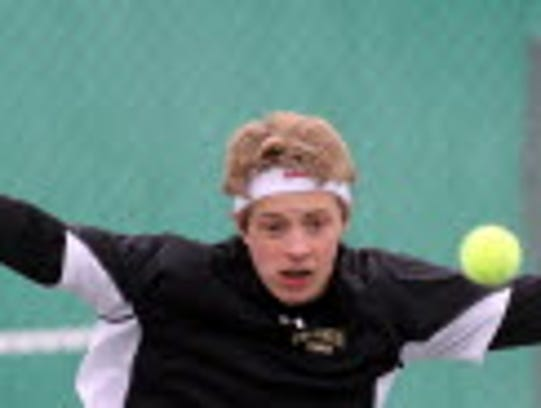 Ethan Grissom returns to play singles for the Franklin