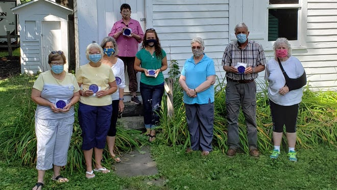 The Field Trip Experience team and representatives of the American Legion Auxiliary's Norwich post 189 were recently recognized by the Chenango County Historical Society in Norwich for supporting school field trips during the 2019-2020 academic year.