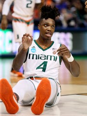 Miam guard Lonnie Walker IV is a trendy pick for the