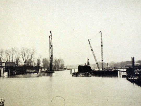 The Port Clinton Lift Bridge, now undergoing a $12.9