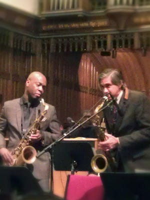 submittedfor jim's blogChris Bacas and Tim Warfied, MLK Vespers 2012