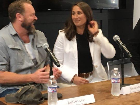 "Netflix original movie ""Point Blank"" producers Joe Carnahan and Cincinnati native Johana Byer announce Aug. 6, 2018 as the start of six weeks of filming in Cincinnati."