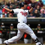 Outfielder Oswaldo Arcia hit 20 homers in 372 at-bats last season for the Twins.