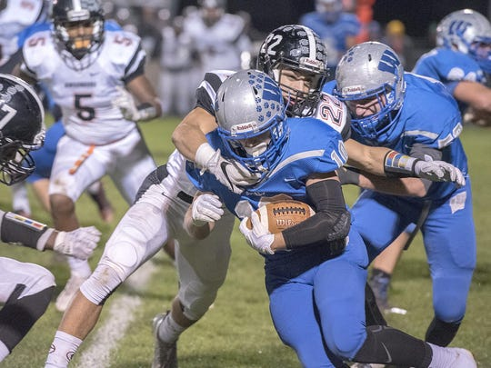 Zack Houck will be one of the options in the backfield