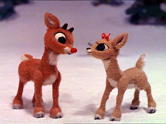 """""""Rudolph the Red-Nosed Reindeer, """" the longest-running holiday special in TV history, will be broadcast at 8 p.m. Dec. 9 on CBS."""