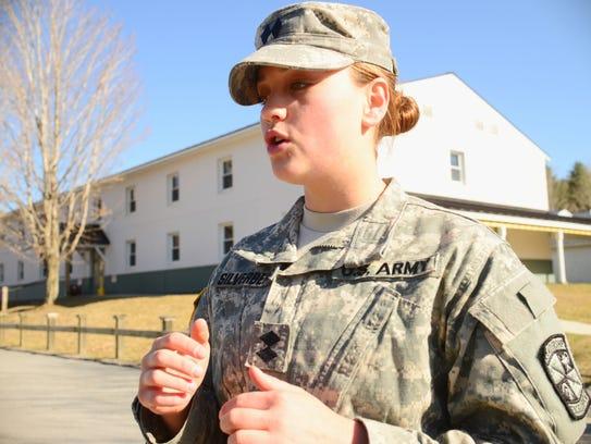 UVM ROTC senior cadet Julie Silverberg describes why