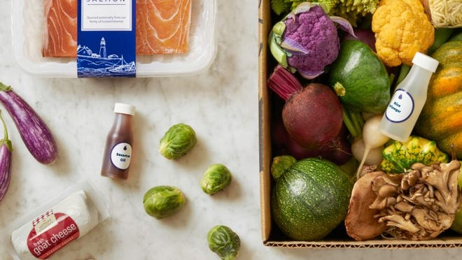 Blue Apron is selling its meal kits at Costco.