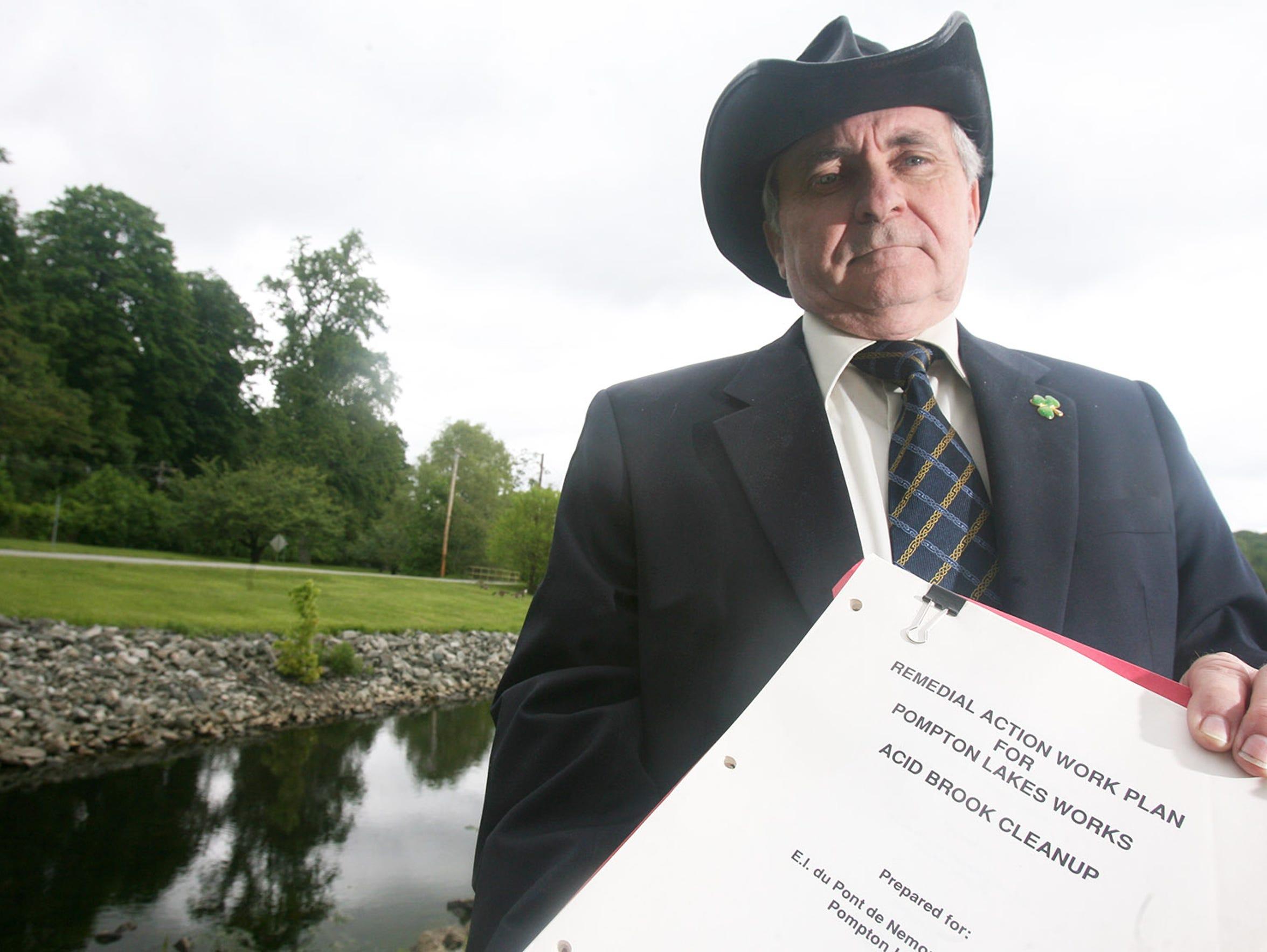 Former Pompton Lakes Mayor John Sinsimer uncovered