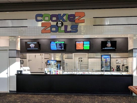 A new cookie shop has opened in Valley West Mall in