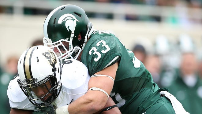 Brother Rice graduate Jon Reschke has bounced back nicely from a shoulder injury suffered late last year to become a starting linebacker for No. 3-ranked Michigan State this fall.