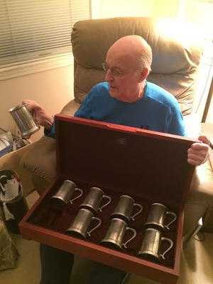 Eddie Kasko still has the gift he received for playing in the 1961 All-Star Game at Fenway Park.
