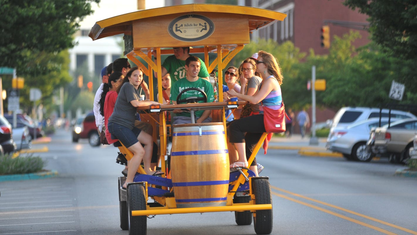 City county council passes pedal pub regulation for Indyanna pub
