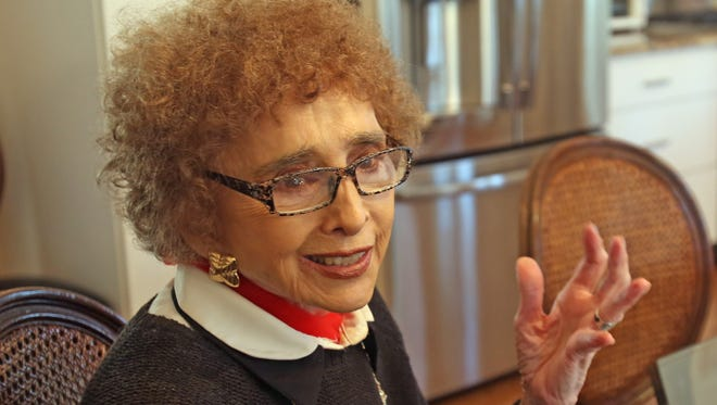 Lila Freund says the Tallman fire department siren is driving her crazy, and may have caused her stroke at her home in Montebello Oct. 31, 2016.