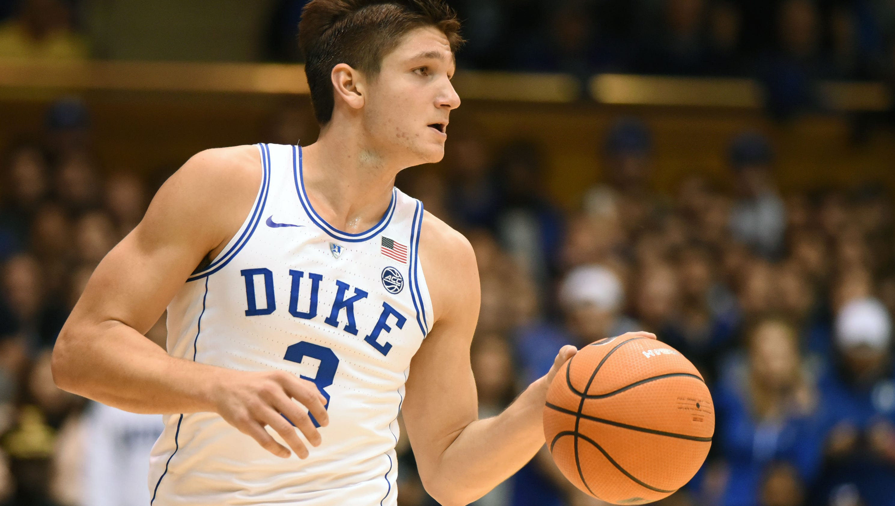 duke's grayson allen on ue: 'they're so precise in everything they do'
