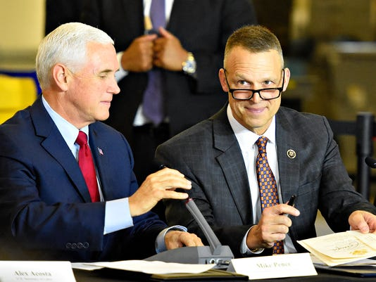 Vice President Mike Pence in York