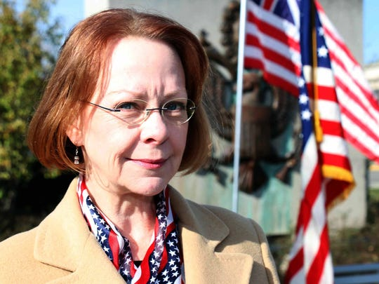 The featured speaker at Birmingham's Veterans Day ceremony was former U.S. Army Master Sgt. Patricia Drury, who served stateside in Operation Desert Storm.