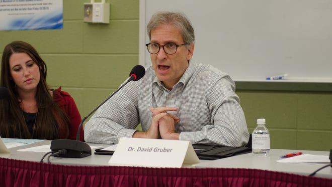 Teaneck Board of Education Trustee David Gruber in a 2015 file photo.
