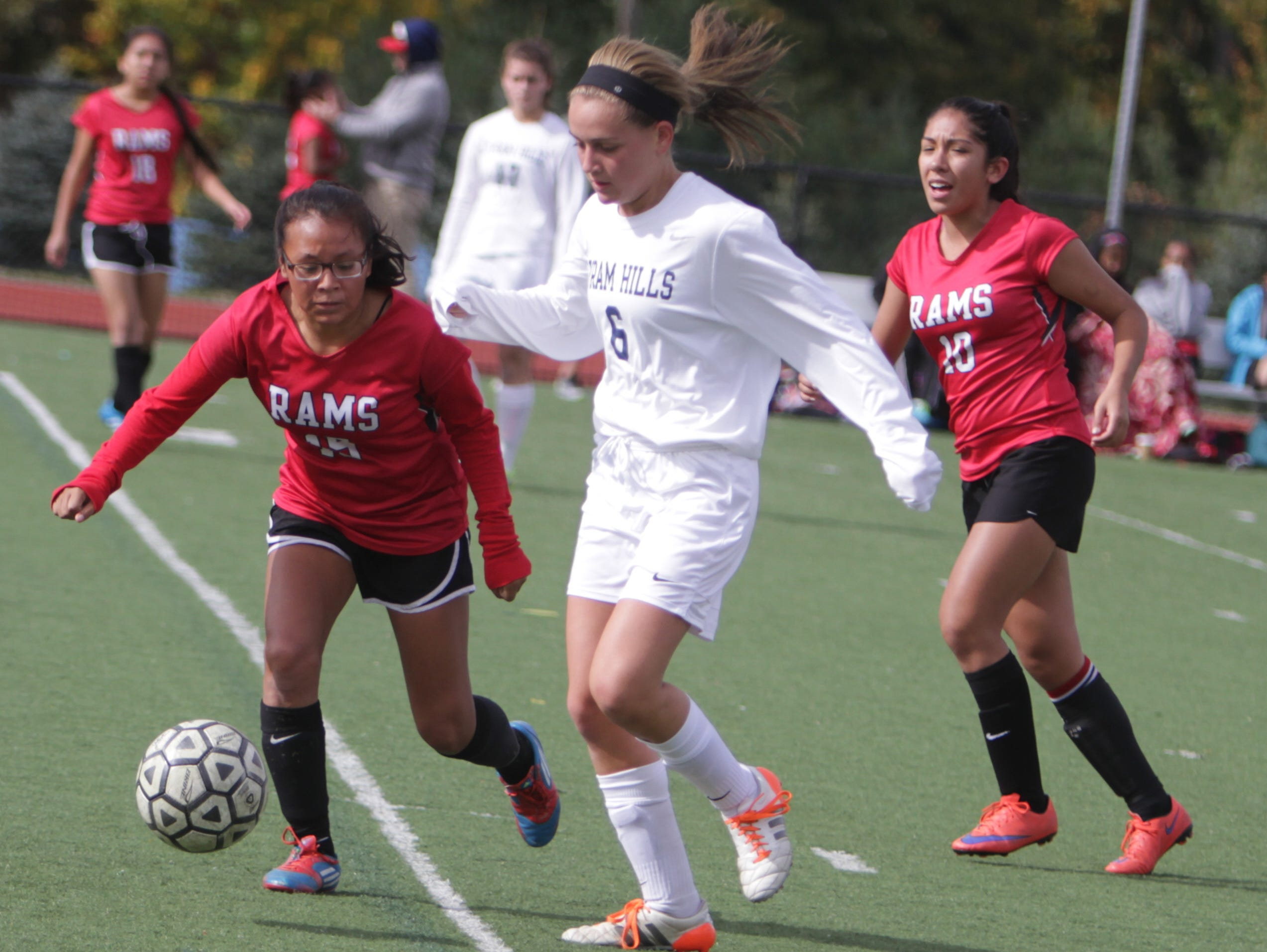 Byram Hills defeated Riverside 6-0 in a Section 1, Class A first round game at Byram Hills High School on Saturday, October 24th, 2015