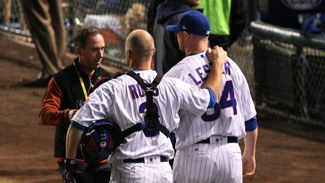 The bond between Jon Lester and David Ross has been forged over five seasons, two teams and 100 starts.