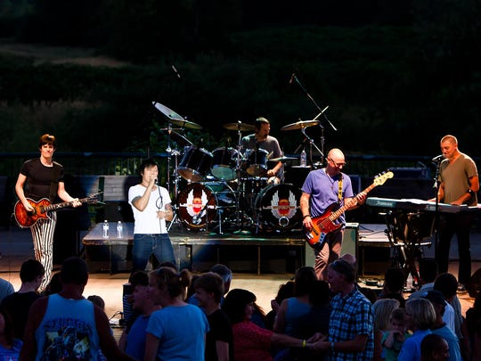 Journey tribute band Stone In Love will play 9:45 p.m. Saturday at Harefest.