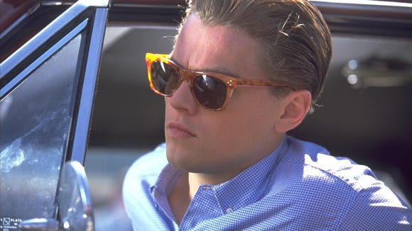 Leonardo DiCaprio jumps in the car in 'Catch Me if