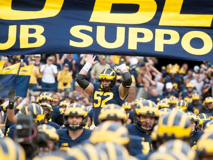 Go through the gallery to view Michigan's football
