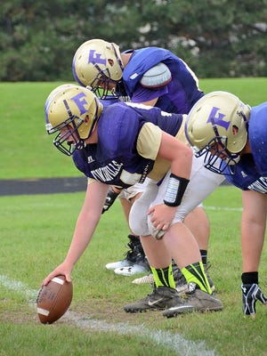 Fowlerville's Bryce Bertl and the Gladiators' offense will need to be at its absolute best to take down Portland on Friday.