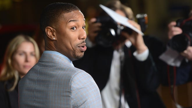 Newark's Michael B. Jordan at the L.A. premiere of That Awkward Moment. Getty Images
