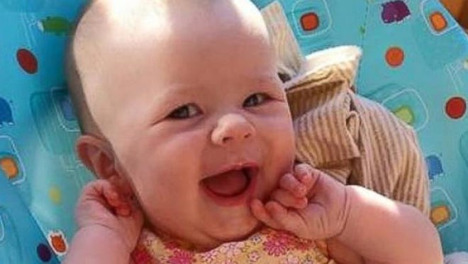Zailynn Mars, 8 months, is in a battle for her life after being diagnosed with spinal muscular atrophy.