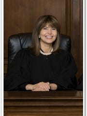 Tennessee Supreme Court Justice Holly Kirby is seen
