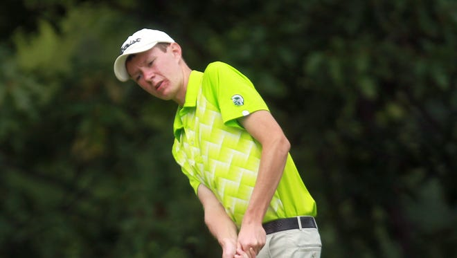 West High senior golfer JD Goodfellow placed ninth at the state tournament in Cedar Rapids.