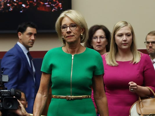 Education Secretary Betsy DeVos Testifies To House Education Committee On Department's Priorities