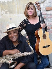 Folk and jazz duo Allison Scull and Victor Martin.