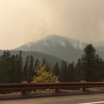 A 1.7-square-mile fire burning near Essex reached a point that triggered a mandatory evacuation of around 100 residents in Essex, along with the Izaak Walton Inn, Fire information officer Sonja Hartmann said.