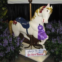 Franklin man's carousel horse takes top prizes at state fair
