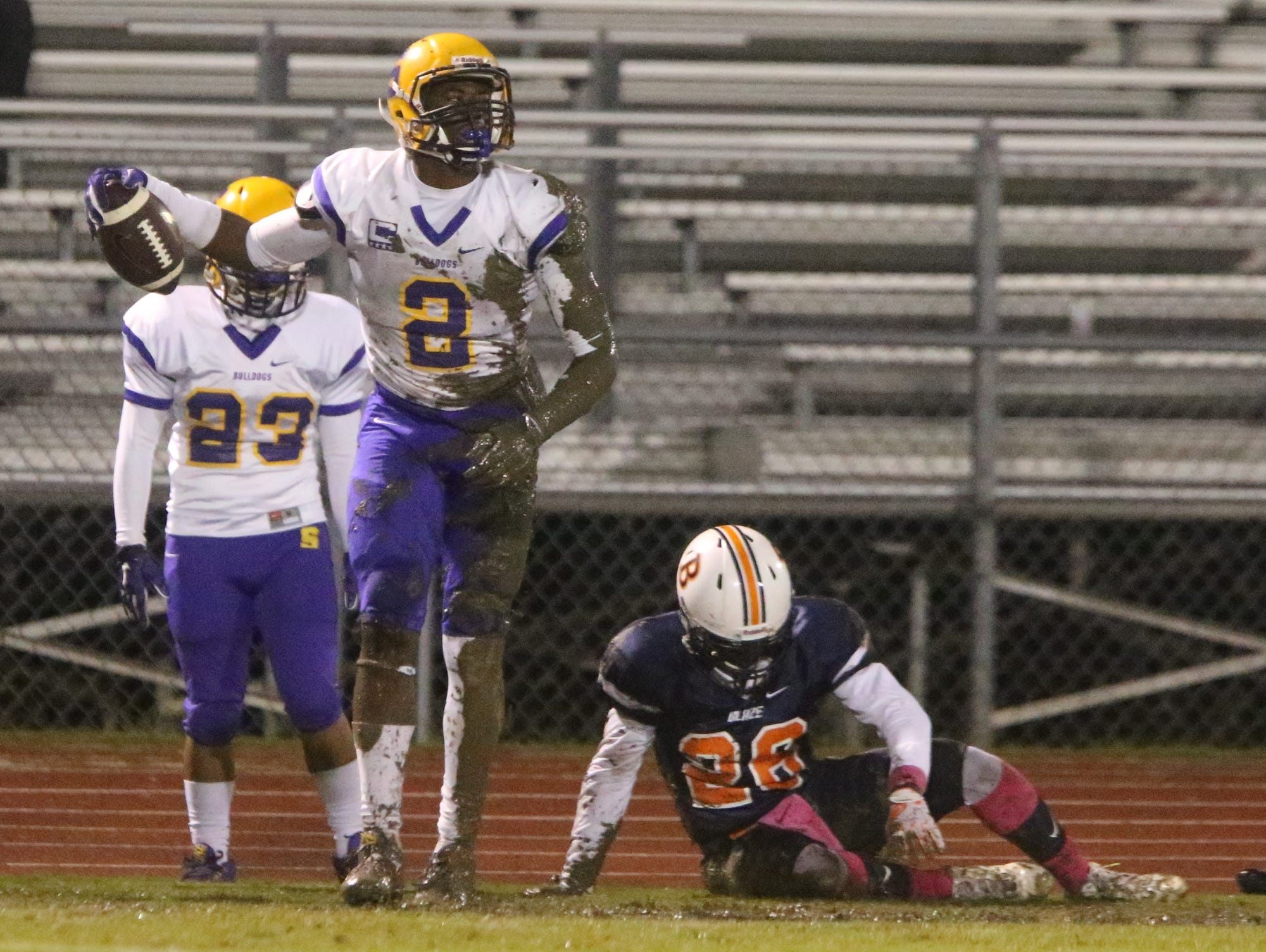 Blackman wins their homecoming game over Smyrna 28-7, on Friday Oct 2, 2015.