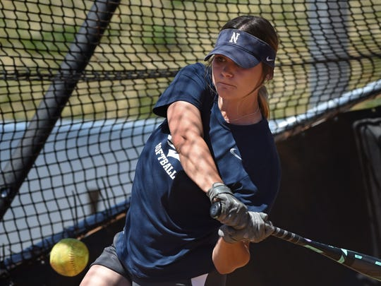 Moorpark High graduate Erika Hansen ended the regular season of her senior year at the University of Nevada with a .396 batting average, 13 home runs and 51 RBIs. Her 13 homers tied a single-season program record she set last year.