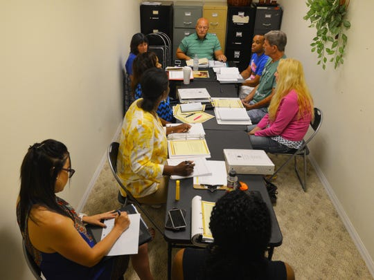 Clients at Housing for Homeless in Rockledge are training with Dr. Paul Evans to become state certified peer support specialists that would enable them to counsel people in similar circumstances with supervision.