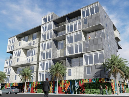 New Eau Gallie Apartment Tower May Use Shipping Containers