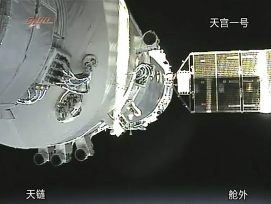 China Defunct Space Station