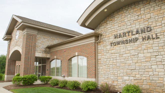 Hartland Township Hall will be closed for part of the day.