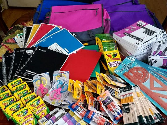 Supported the school supplies drive held by Netherwood Heights Neighbors in Plainfield