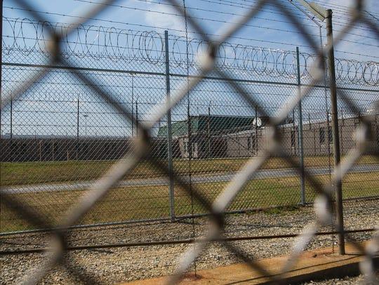 Building C at James T. Vaughn Correctional Center.