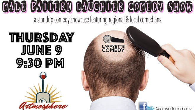 The Male Pattern Laughter Comedy Show is Thursdays at Artmosphere.