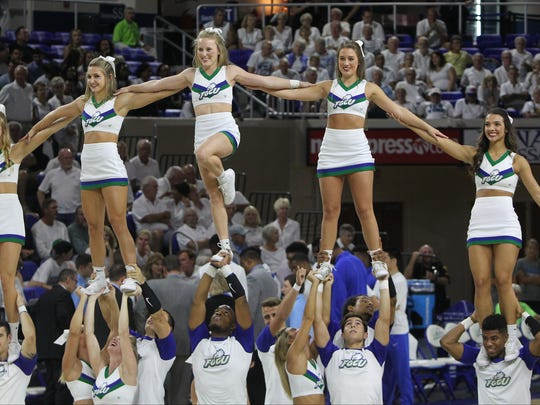 Scenes from  the Texas Wesleyan vs FGCU home opener Monday in Fort Myers.