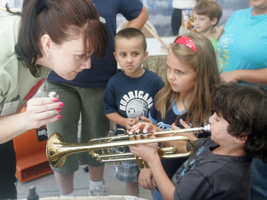 A musical petting zoo was a popular part of the Free Day of Music in past years.