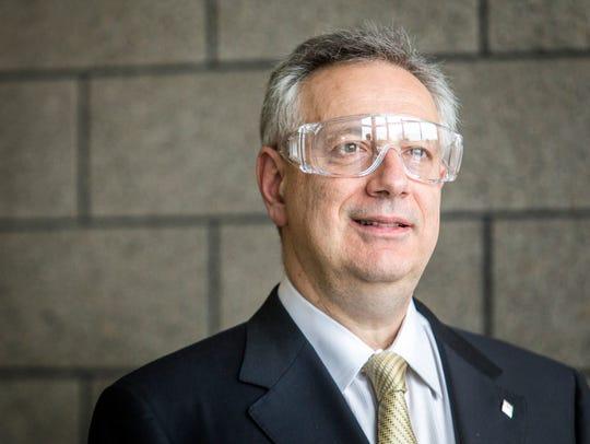 Dennis Assanis, president of the University of Delaware,