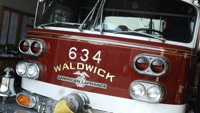 Firefighters quickly knocked down a garage fire sparked by a gas grill on Charles Terrace in Waldwick on Thursday afternoon.