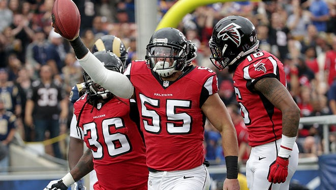 Paul Worrilow, Atlanta Falcons, University of Delaware, Super Bowl LI